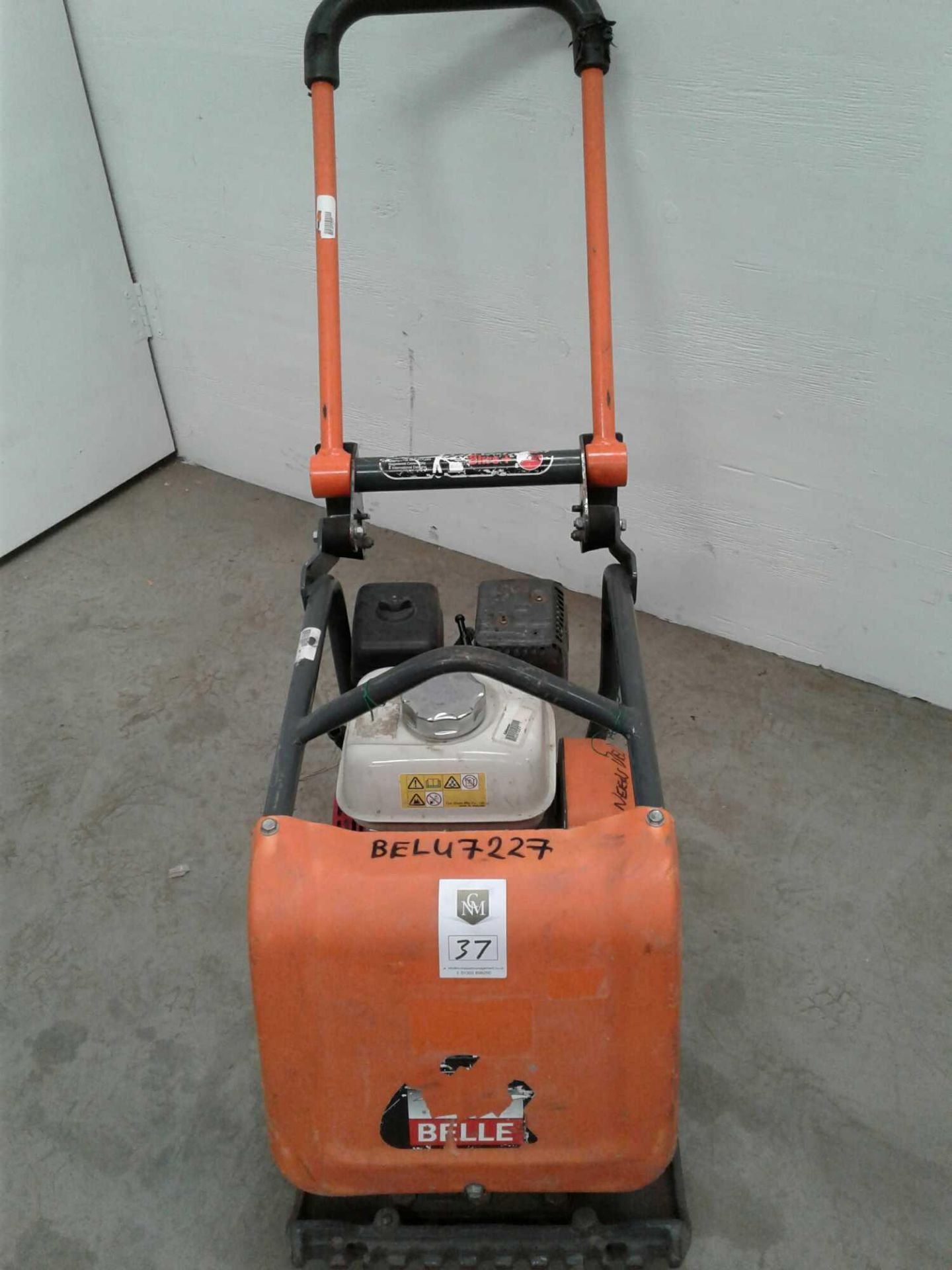 Lot 37 - Belle 14 inch petrol wacker plate