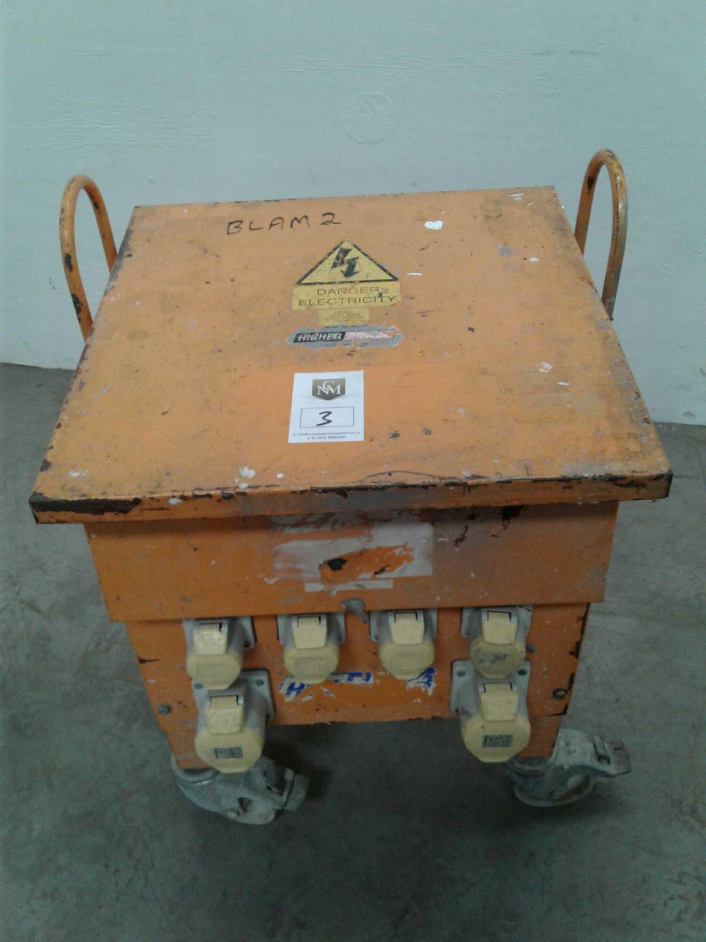Lot 3 - Blackley 10kva transformer