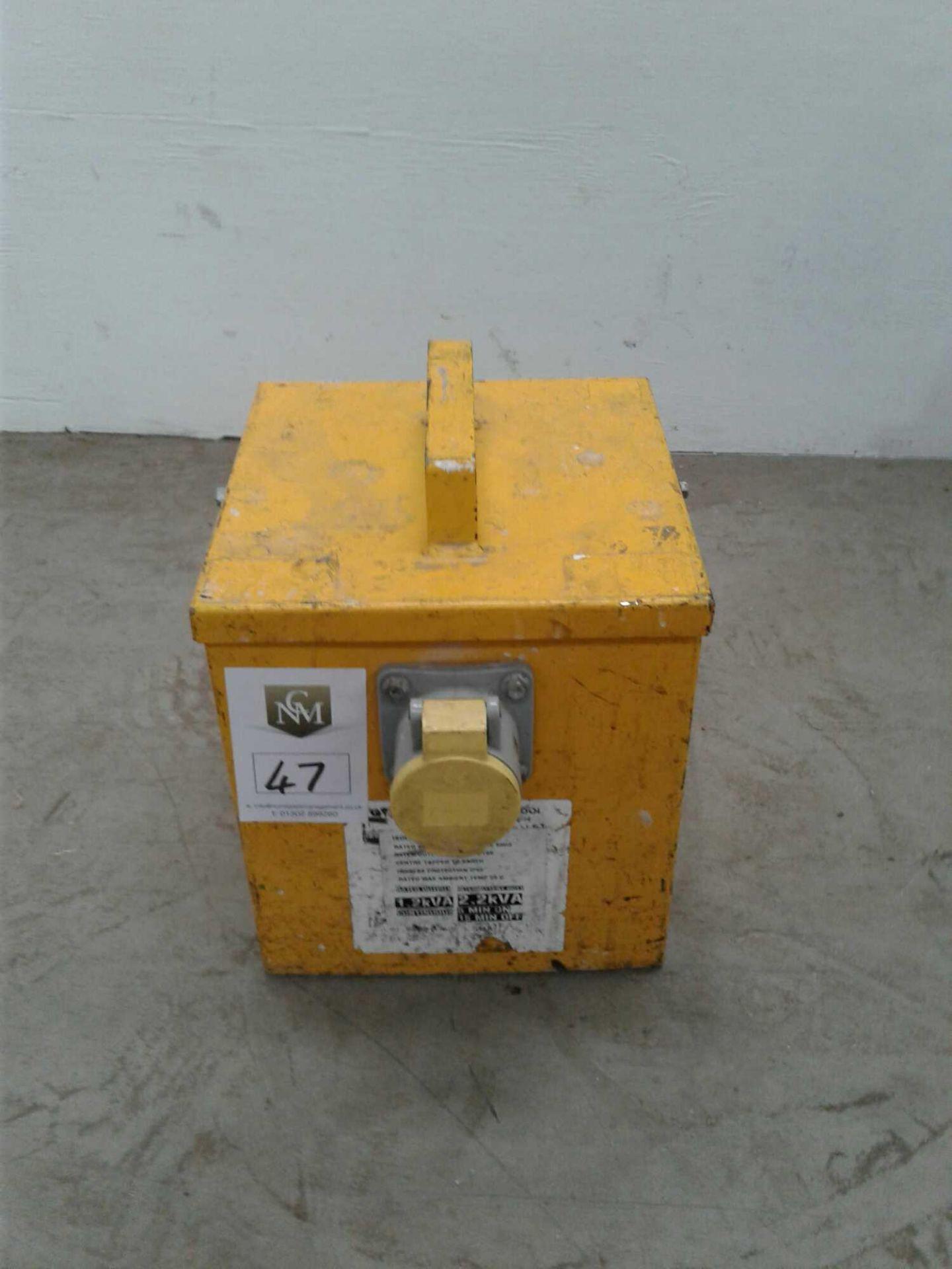 Lot 47 - 2.2 kVA transformer