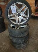 4 x alloy wheels