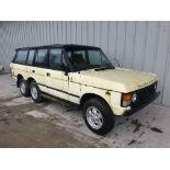 Range Rover Carmicheal 6 Wheel Conversion