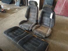Unknown front and rear seats