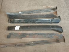 MGB Inner and outer sill repair kit (R+L)