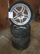 4x Mercedes alloys