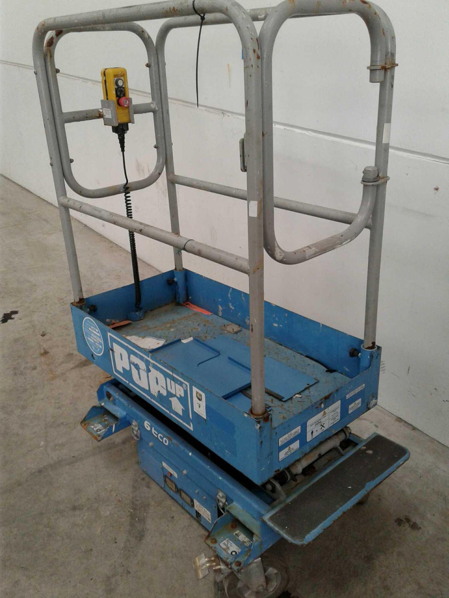 Lot 7 - Pop-up access platform 110 V
