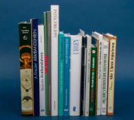 """19teiliges Konvolut """"UHREN"""" - Bücher/Literatur. Versch. Alter, Formate & Erhaltung.- - -20.00 %"""
