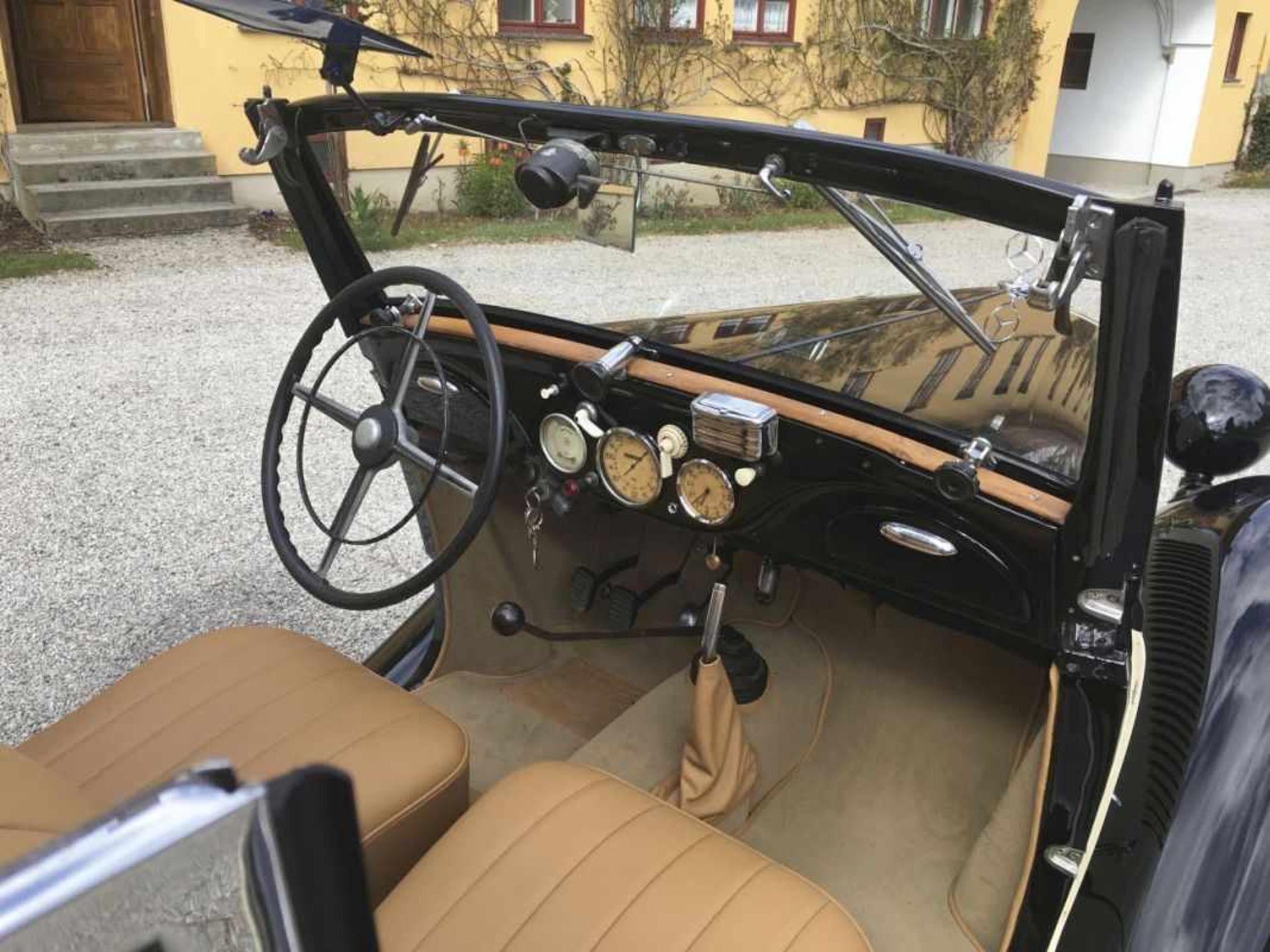 Mercedes Benz Type 170 VW 136 series, Cabriolet 2-door, four-cylinder, 1,697 cc Year of construction - Bild 12 aus 14