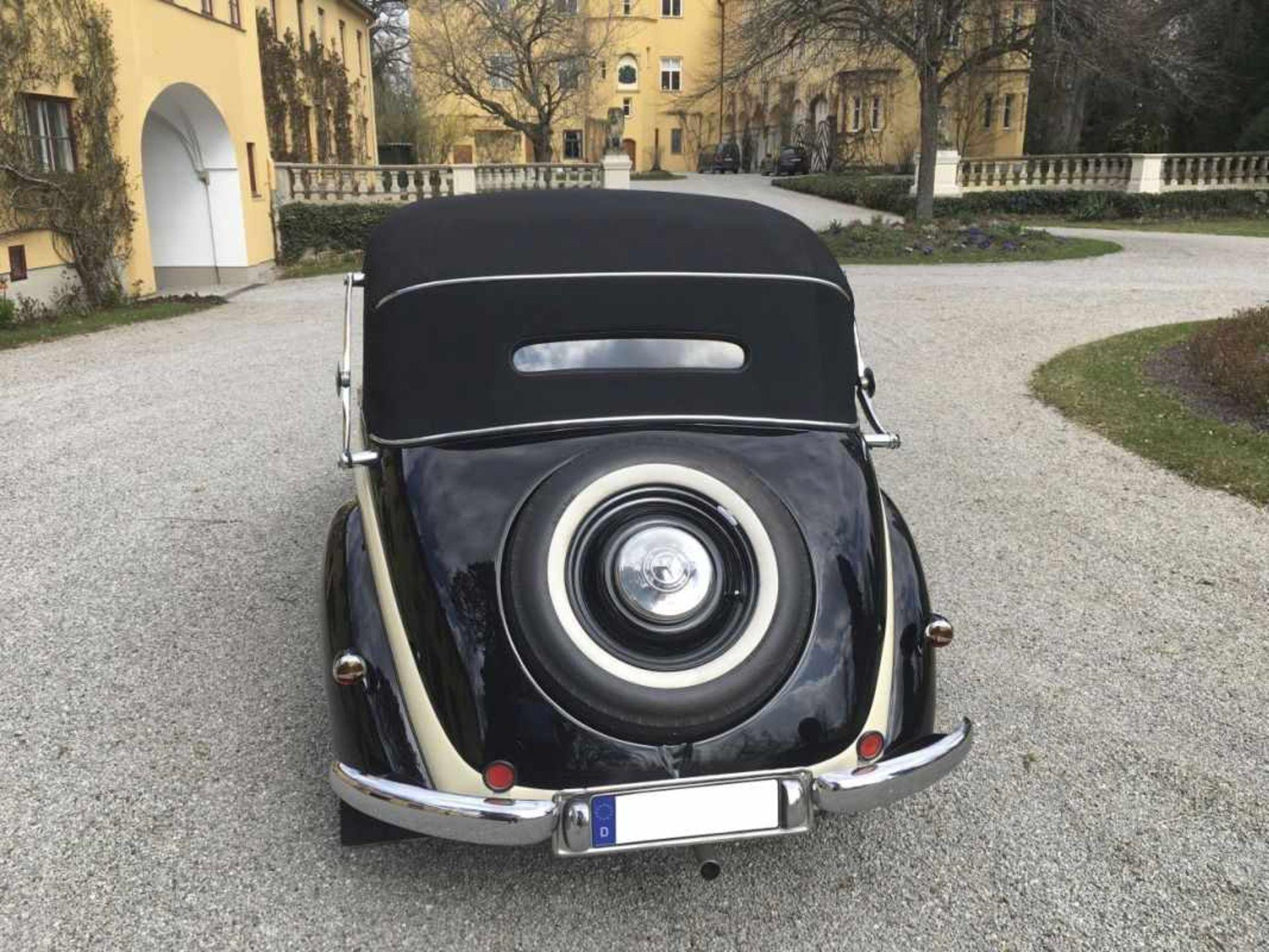 Mercedes Benz Type 170 VW 136 series, Cabriolet 2-door, four-cylinder, 1,697 cc Year of construction - Bild 7 aus 14