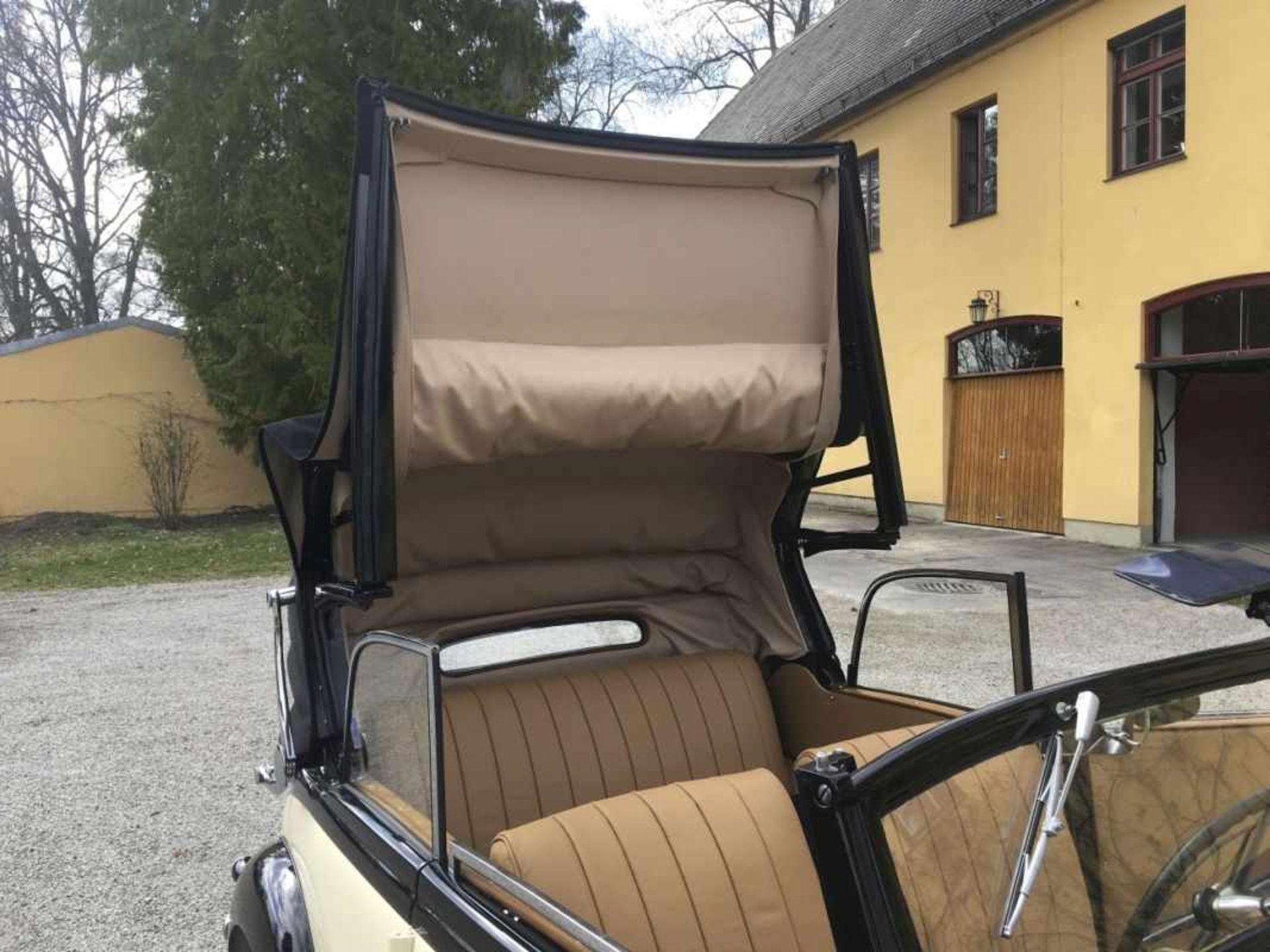 Mercedes Benz Type 170 VW 136 series, Cabriolet 2-door, four-cylinder, 1,697 cc Year of construction - Bild 11 aus 14