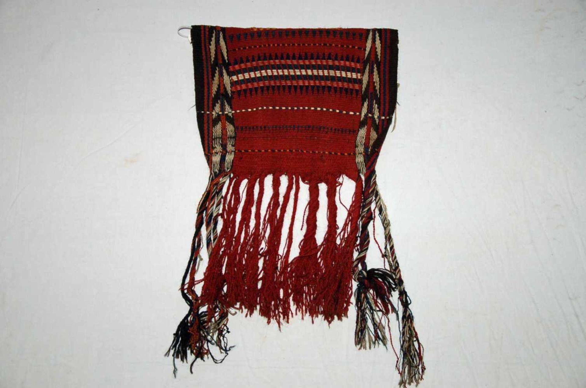 Kleine Tasche, Kelimca. 51 x 31 cm.