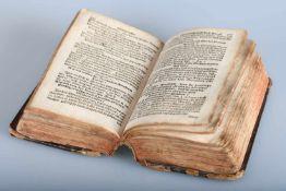 """Hand-Postill, 1769""""Gantz erneuert und mercklich vermehrte Hand-Postill, Oder Christ-Katholisches"""
