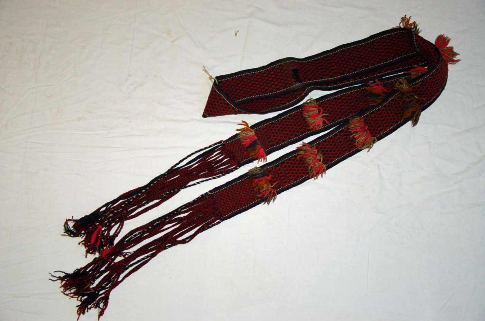 Kibitka-Schmuckband/ Zeltband, Turkmenistanca. 145 x 34 cm.