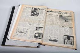 World and Press, Jahrgänge 1972 - 1979In 2 großen Bänden gebundene Ausgaben