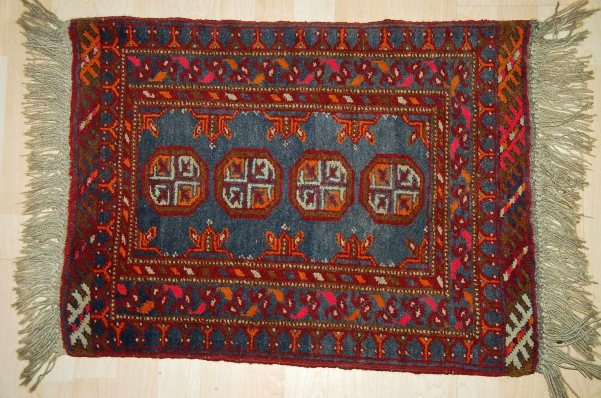 Afghan-Brückeca. 72 x 54 cm.