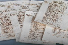 Kontoraufstellung für den Superintendenten von Balingen, Frühes 18. Jahrhundertund von Dürrwangen,