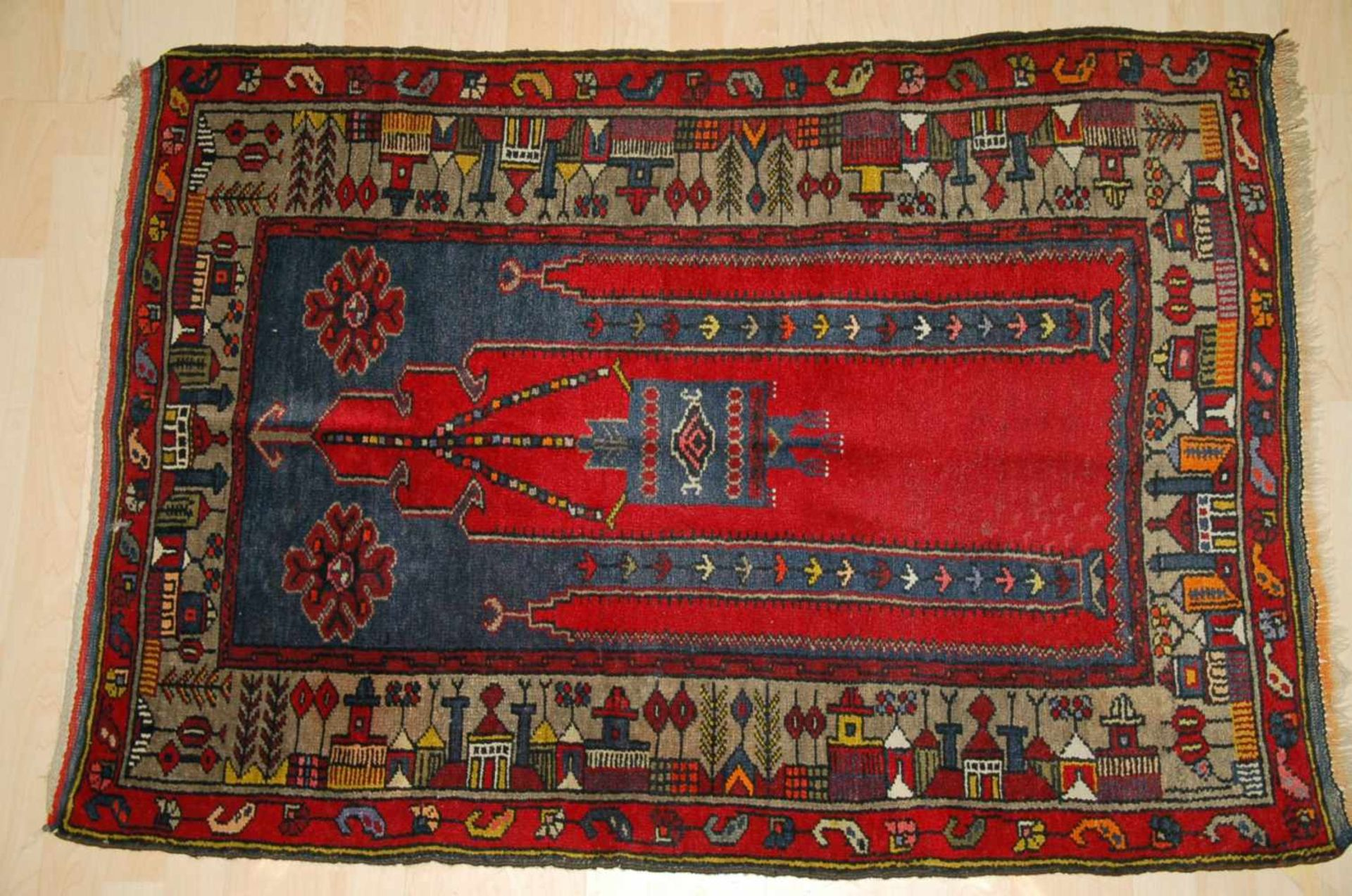 Gebetbrücke, Konyaca. 134 x 94 cm.