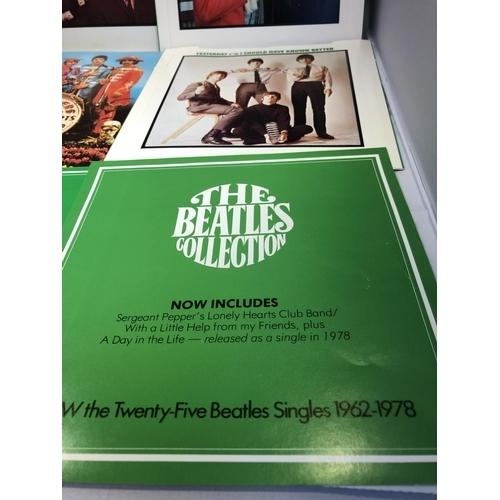 Lot 48 - The Beatles Collection by World Records - Rare 1978 UK 20th Anniversary box set containing twenty 25