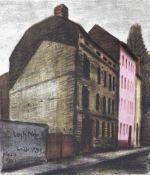 Butzmann, Manfred(geb. 1942 Potsdam, lebt in Bornim)Anhalter-PuffFarbalgraphie in 6 Farben, 1993,