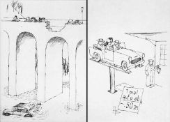 Büttner, Henri(geb. 1928 Wittgensdorf bei Chemnitz, lebt in Wittgensdorf)Karikaturist und