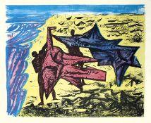 Graetz, René(Berlin 1908 - 1974 Graal-Müritz)Bedeutender Bildhauer und Graphiker, lebte lange Zeit