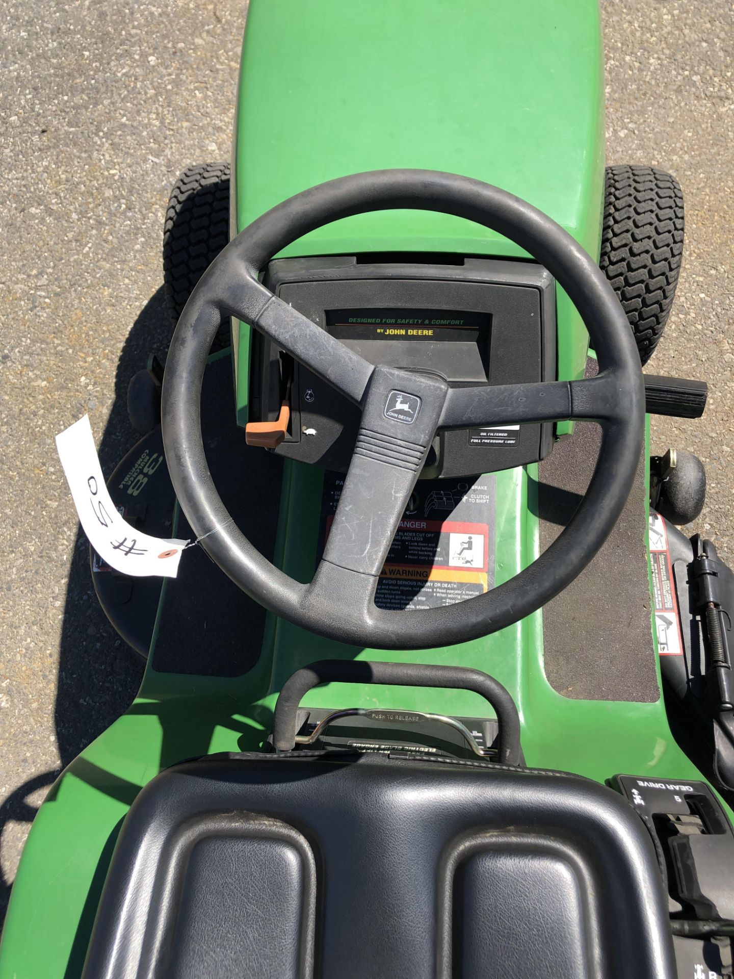 """Lot 50 - John Deere STX 38 Lawn Mower w/38"""" deck"""
