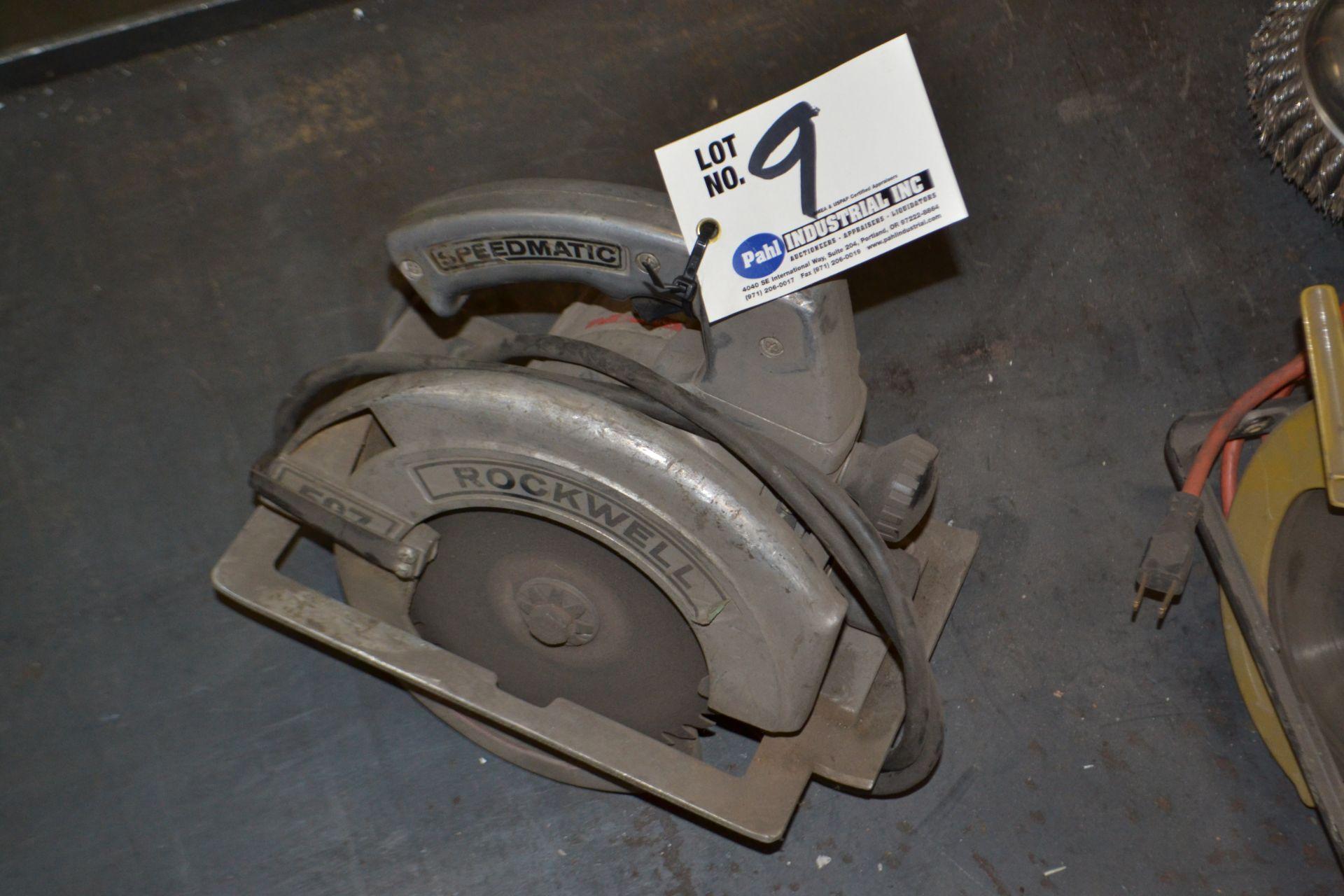 "Lot 9 - Rockwell Model 597 7 1/4"" Circular Saw"