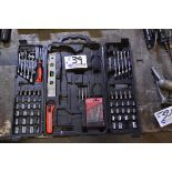 """Lot 39 - Wrench and Socket Set 3/8-5/8"""", 10-16mm Open/Box end Wrenches, 3/16-1/2"""", 6-15mm Sockets"""