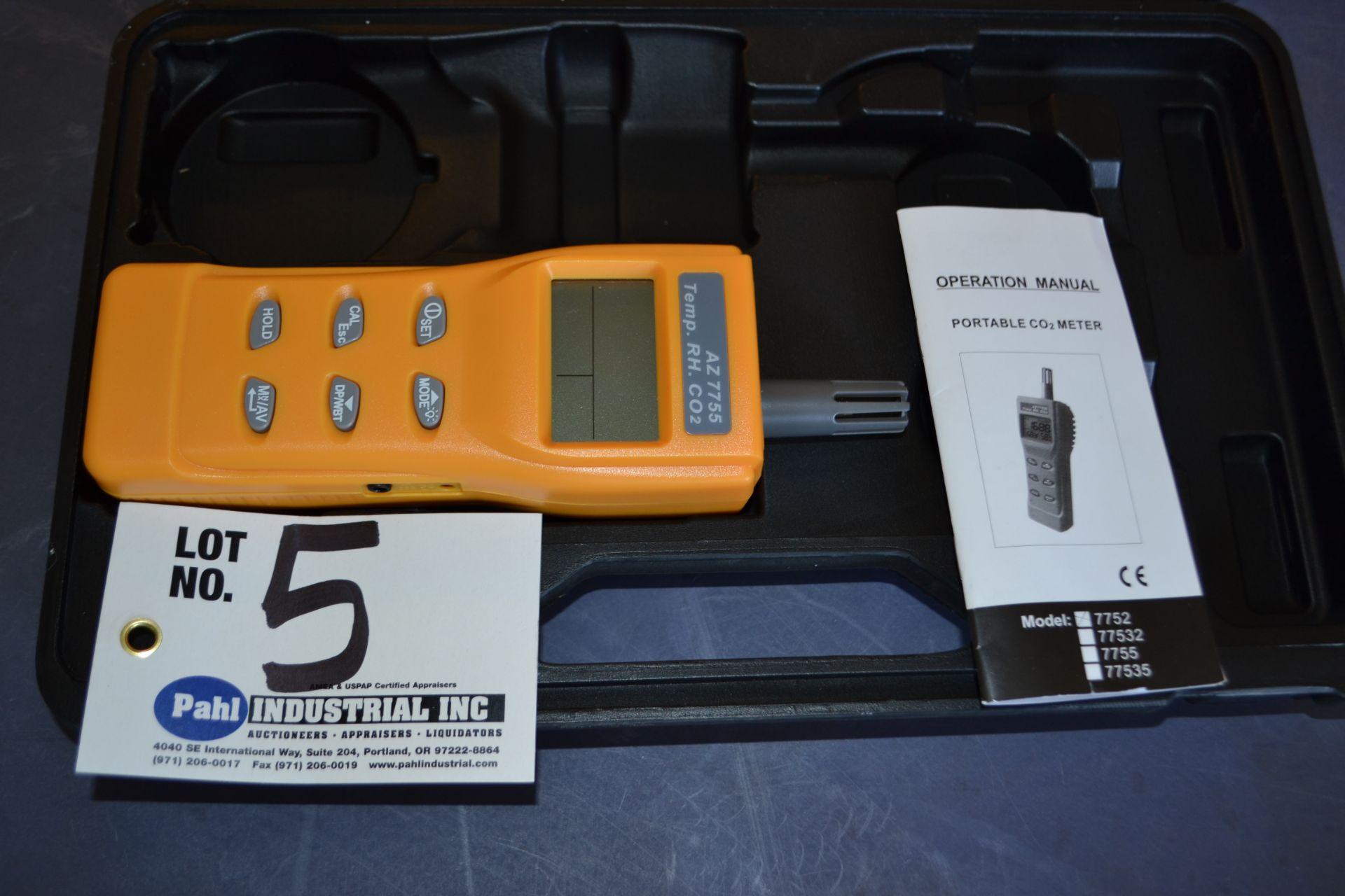 Lot 5 - Model AZ7755 Portable CO2 Meter