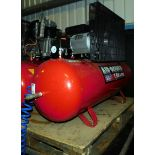 Sealey Air Power 150Ltr receiver mounted air compressor (240v), Serial Number: IYD0024491