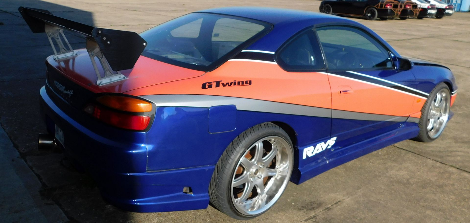 Nissan Silvia S15 2 door Coupe, LS3 V8 6.2 Litre Engine, Quaife 6 Speed Sequential Gearbox, - Image 6 of 12