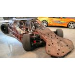 """Ramp/Flip Car, Original Picture Vehicle From """"Fast & Furious 6""""*, Special Build (1 of 2 Made), Steel"""