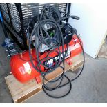 Sealey Air Power 150Ltr receiver mounted air compressor (240v), Serial Number: IYD0024395, with
