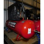 Sealey Air Power 150Ltr receiver mounted air compressor (240v), Serial Number: IYD0924988