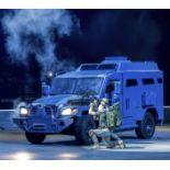 Dodge Ram Special Build Semi Armoured Navistar Stage Vehicle, 5.2 Litre V8 Engine, Column Shift,