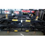 Car Deployment Ramp Stage Prop (Electric winch Raises Front Half and Rear Solid Structure with
