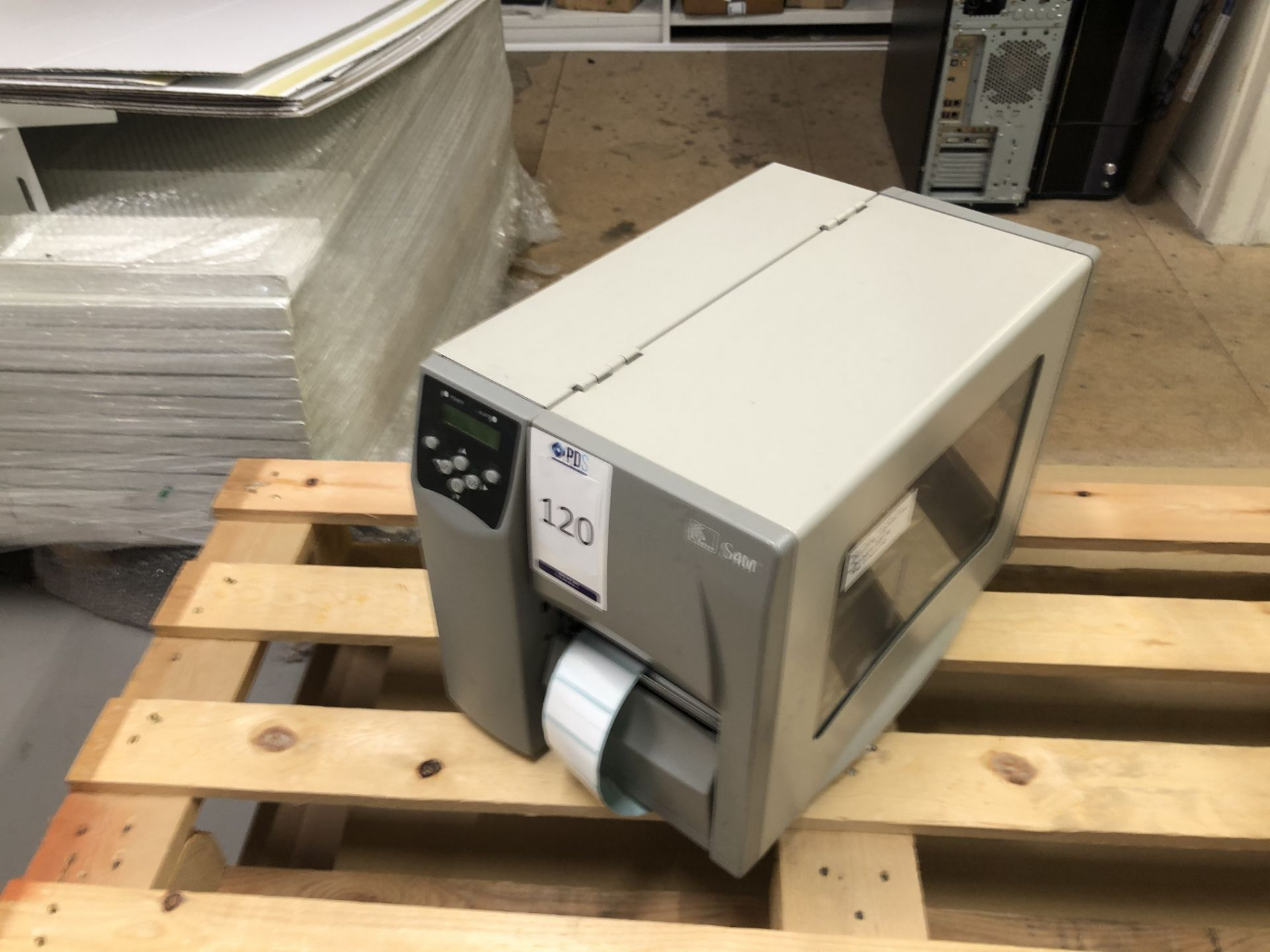Los 120 - Zebra S4M Label Printer (Located Northampton – See General Notes for Full Address)