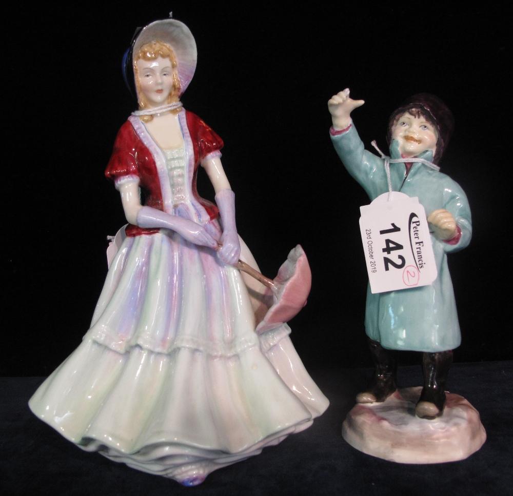 Lot 142 - Paragon fine bone china 'Lady Sybil' figurine,