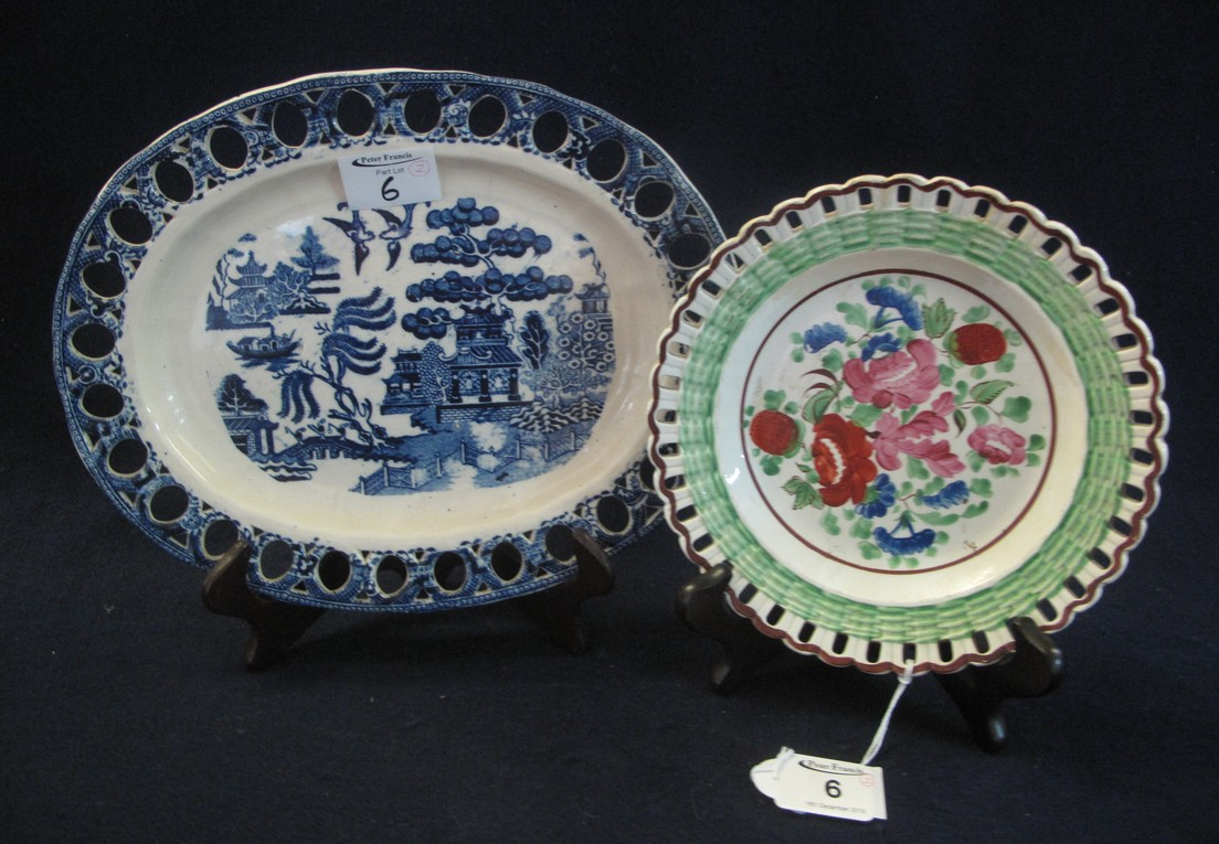 Lot 6 - Two items of Welsh pottery to include;