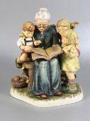 große Hummel Großmutterfigur Goebel, Hummel, exklusiv f. M.I. Hummelclub, limitierte Sonderausgabe