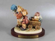 große Hummel KinderfigurGoebel, Hummel, 1996 Sonderauflage, XX Century Collection, 125 Jahre, Hab