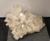 große Bergkristall-Stufeimposante große Bergkristallstufe, Gebr.sp., H. 33, L. 70, T. 50