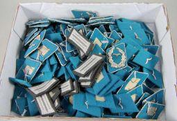 großes Konvolut NVA-Kragenspiegeloriginal aus NVA-Beständen, ca. 172tlg., 84 Paare, Kragenspiegel