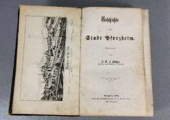 Geschichte der Stadt Pforzheim1862, Geschichte der Stadt Pforzheim, Bearbeitet von J. G. F.