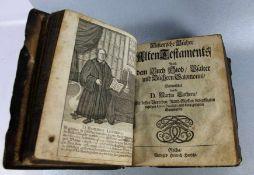 H. Hansche-Bibel18. Jhd., Bibel mit Kupferstichen, Verlag Gotha Heinrich Hansche, Vorrede Goergius