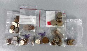 Konvolut Münzenca. 117 Stk. Geldmünzen, je 1mal Republika Portuguesa u. Belgien, 6mal Enspana, davon