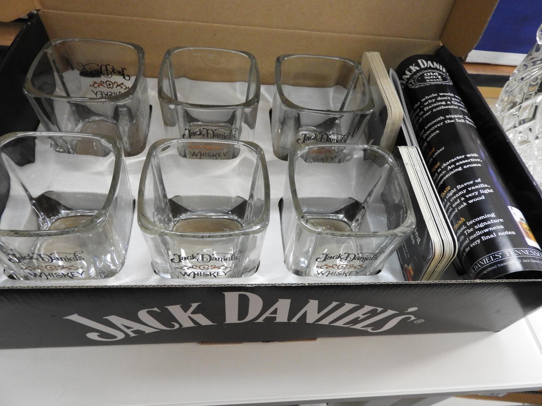 Lot 749 - Boxed Jack Daniels Whisky Tumbler Set