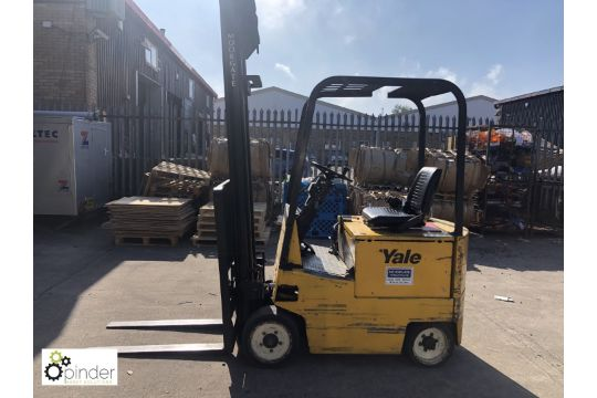 Yale ERCO 40AA EV106 Electric Forklift Truck, 4000lbs capacity