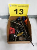 Lot 13 - LOT OF ASSORTED ALLEN KEYS