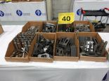 Lot 40 - LOT OF ASSORTED CLAMPS AND SPACERS