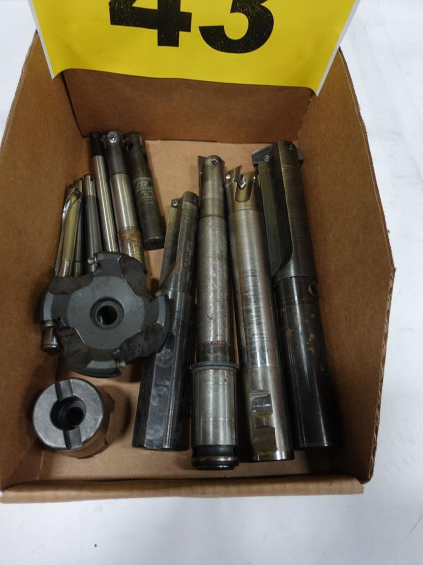 Lot 43 - LOT OF CUTTING TOOLS
